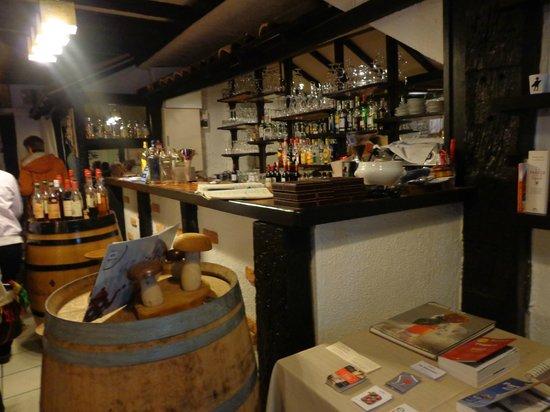 La Table d'Aranda: Barra