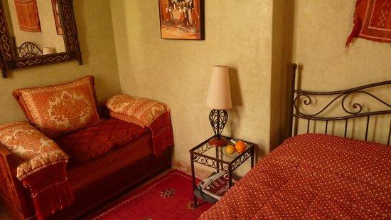 Riad Aguerzame : La chambre verte