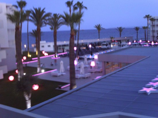 Hotel Garbi Ibiza & Spa : pic from our balcony 3rd floor