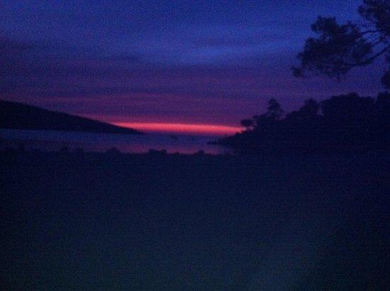 Portinatx Beach Club Hotel : Red sky at night