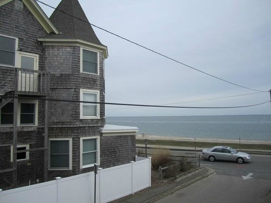 The Seaside Inn: Building next door, sea across the street