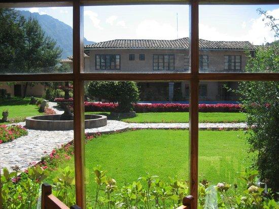 San Agustin Urubamba Hotel: Vista desde el comedor