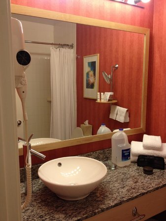 Wild Palms Hotel - a Joie de Vivre Hotel : Bathroom