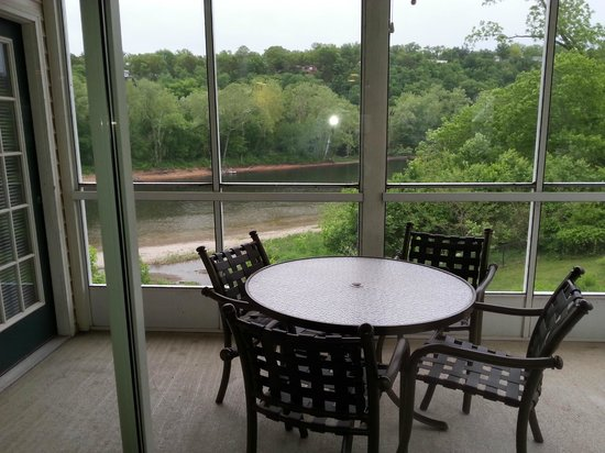 Suites at Fall Creek: screened porch