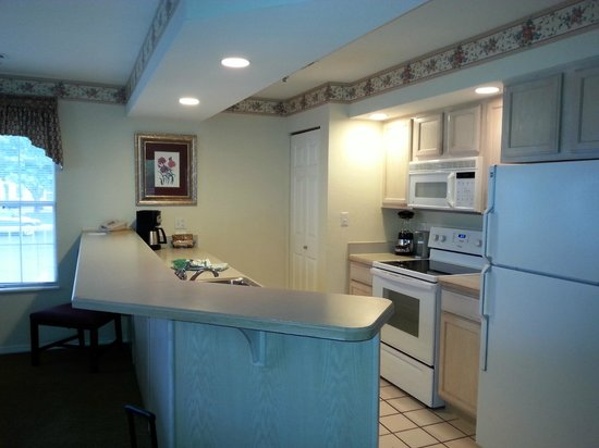 Suites at Fall Creek: full kitchen with everything you need, includes washer/dryer