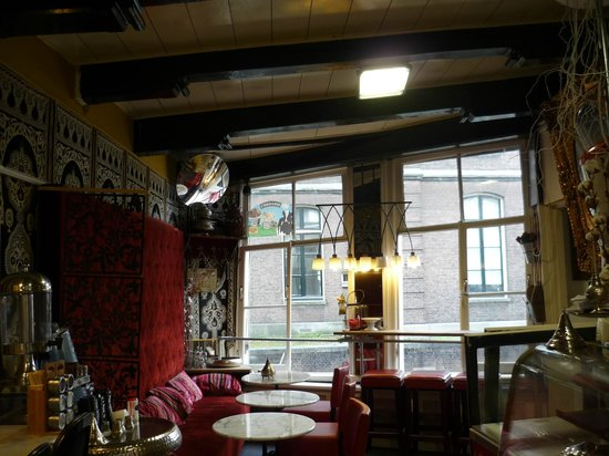 Residence Sweets: das süsse Café mit Grachtenblick, auch Frühstücksraum
