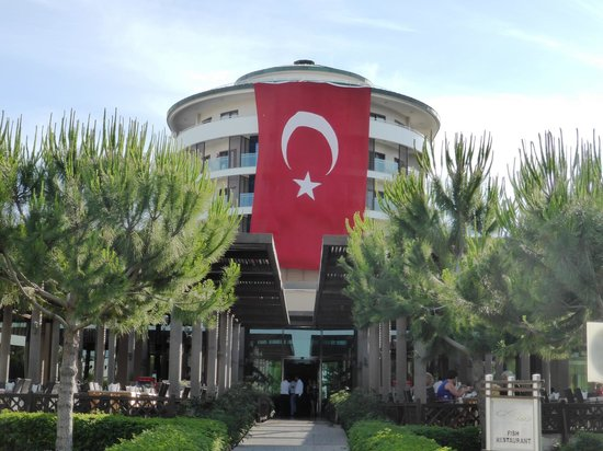 Voyage Belek Golf & Spa : Main building