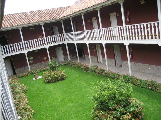 San Agustin Urubamba Hotel : Vista desde la habitación