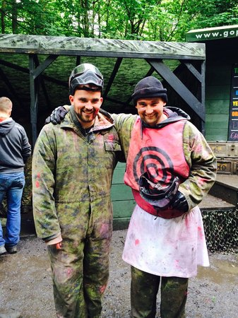 GO Paintball London: The stag and best man