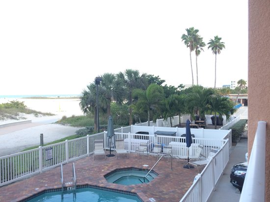 Surf Beach Resort: Balcony view