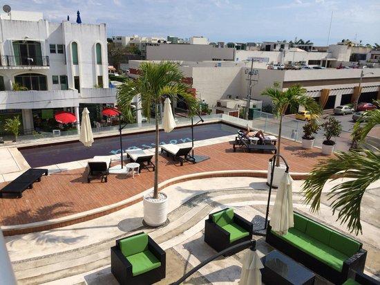 Cache Hotel Boutique: desde el balcón