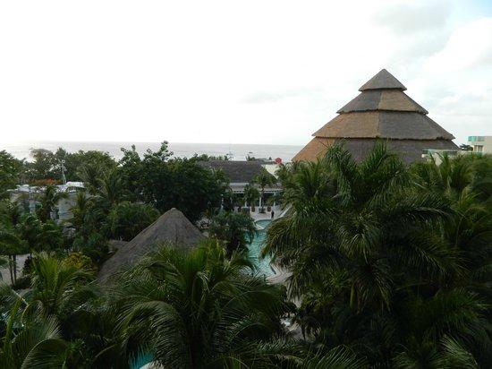 Grand Park Royal Cozumel: Una vista desde el balcón