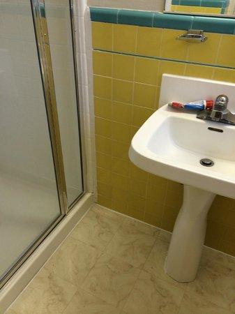 El Camino Inn : quaint bathroom