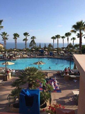 Marriott's Newport Coast Villas: View from the lobby!