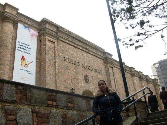 Museo Nacional: entrada