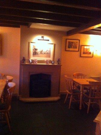 The Horseshoe Inn: Warm welcome .