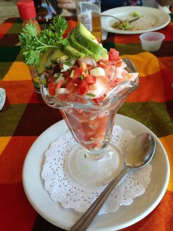 The Sand Bar: Ceviche Appetizer