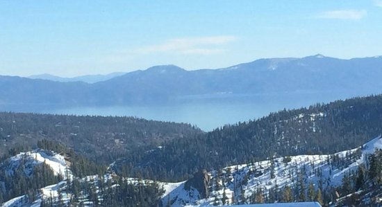 Squaw Valley Ski Area: My view from the bar