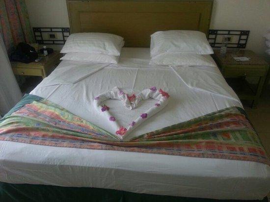 Sharm El Sheikh Marriott Resort : Bed designs