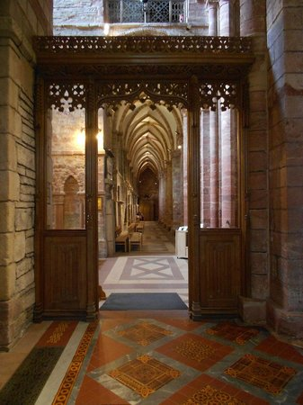 Saint Magnus Cathedral: Interior detail at St Magnus Cathedral