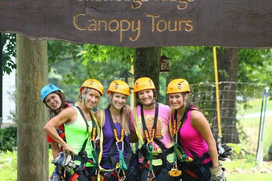 Chattooga Ridge Canopy Tours: After Zipping