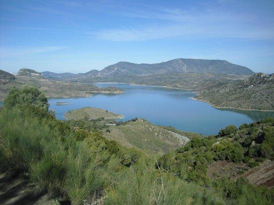 Cortijo Salinas: Lago cercano
