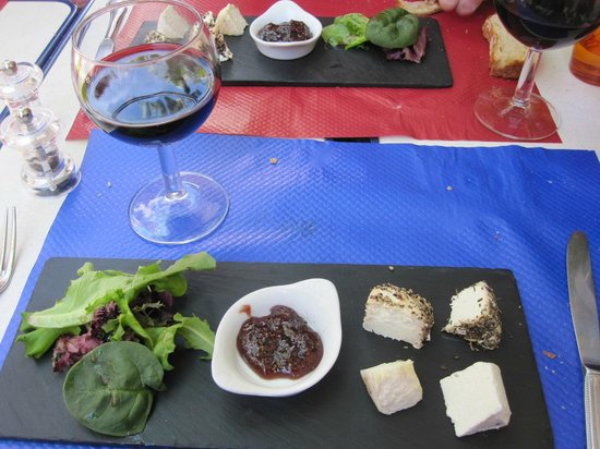Dessert Plateau De Fromages De Saint Jeannet Picture Of La Table
