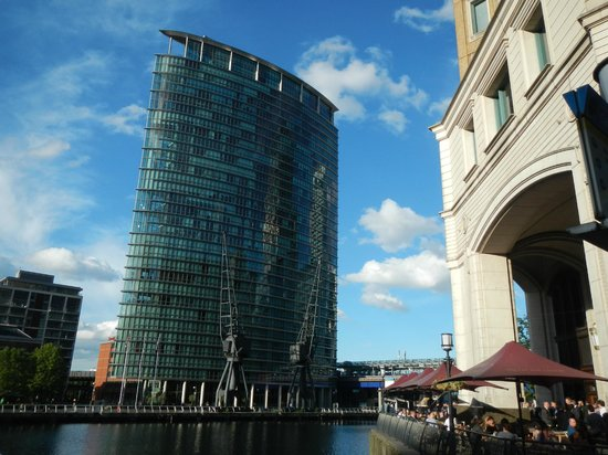 London Marriott Hotel West India Quay: l'hotel di giorno