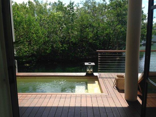 Rosewood Mayakoba : Plunge pool