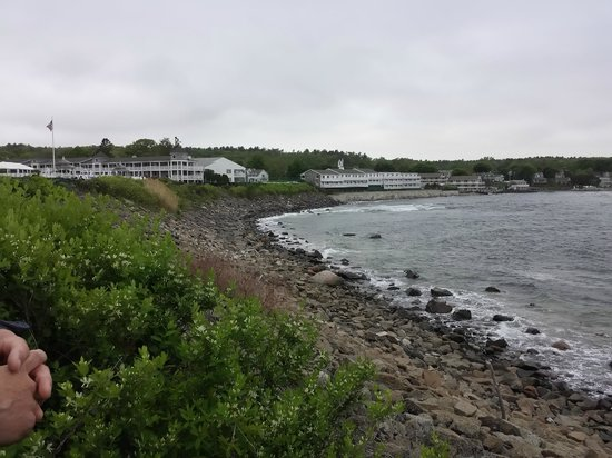 Ogunquit Beach : View of the Beach from the Marginal Way