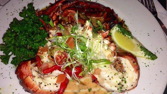 Lobster Pot: pan roasted lobster