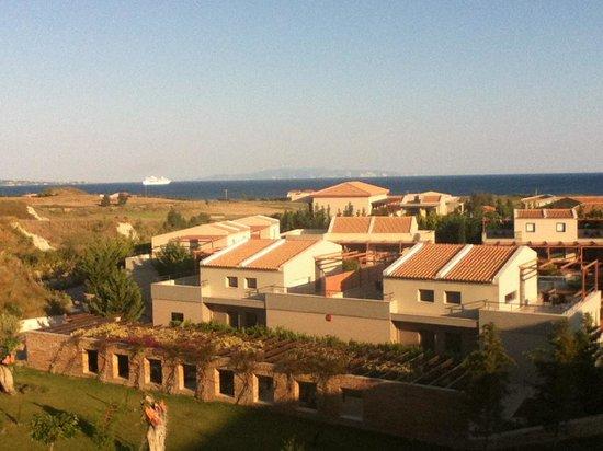 Apollonion Resort & Spa Hotel: View from room towards Zante