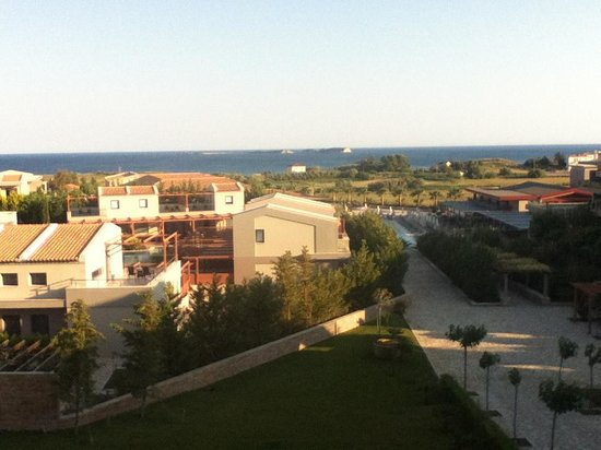 Apollonion Resort & Spa Hotel: View from room
