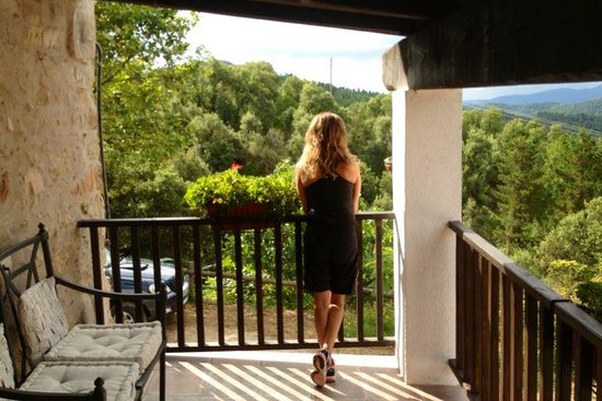 Can Canaleta: La terraza privada de la habitación nº2