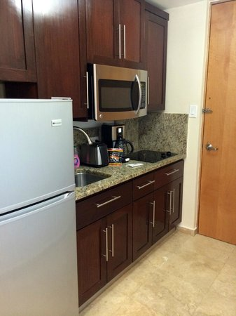 Ciqala Luxury Suites: kitchenette