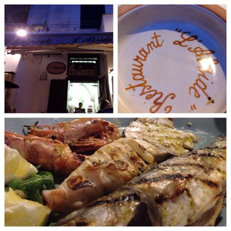L'Abside: Mixed grilled seafood