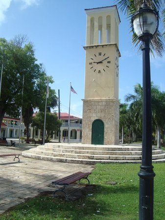 Frederiksted: The tower.