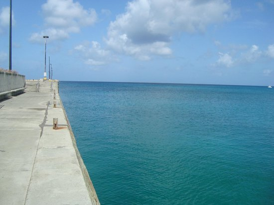 Frederiksted: Beautiful pier view.
