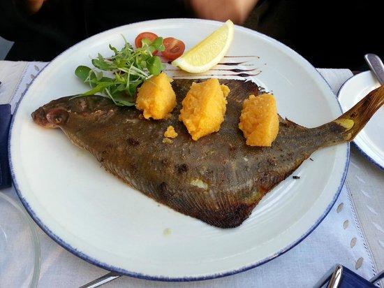 zila govs: Flounder with sea-buckthorn