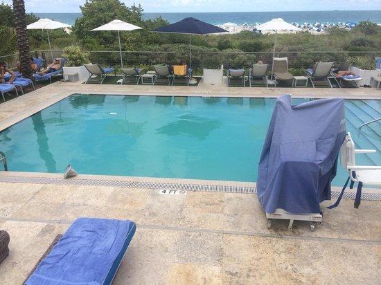 Marriott Stanton South Beach: Una piscina con vista espectacular