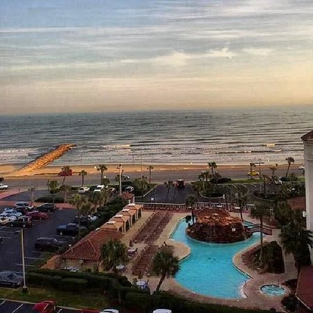 Hilton Galveston Island Resort: View from room