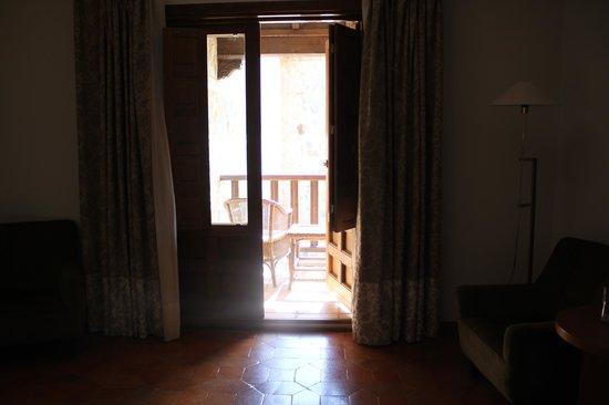 Parador de Toledo: balcon