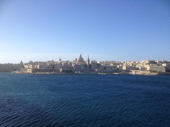 Valletta from Hotel Fortina