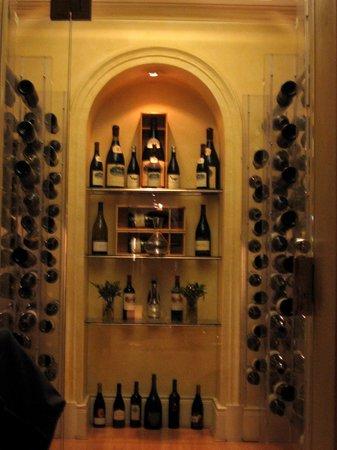 The Pavilion: Wine cellar