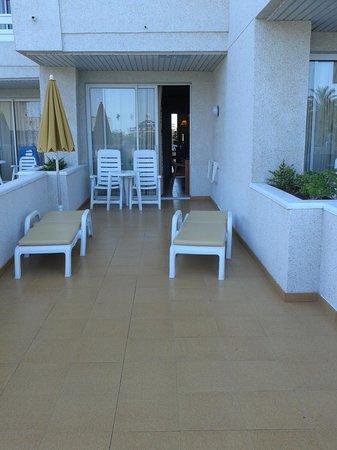 Spring Hotel Vulcano: extra long veranda room 289