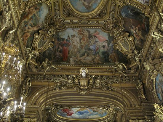 Opéra Garnier : The ceiling