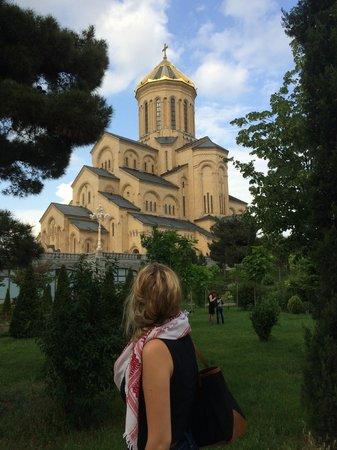 Tsminda Sameba Cathedral: cathedral