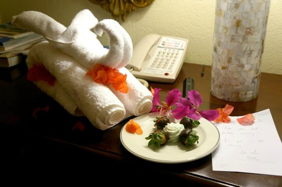 Sandals Royal Plantation : Sweet little note from Shelly <3