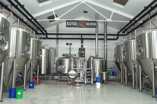Edge Brewing, Barcelona: Edge Brewing Brewhouse