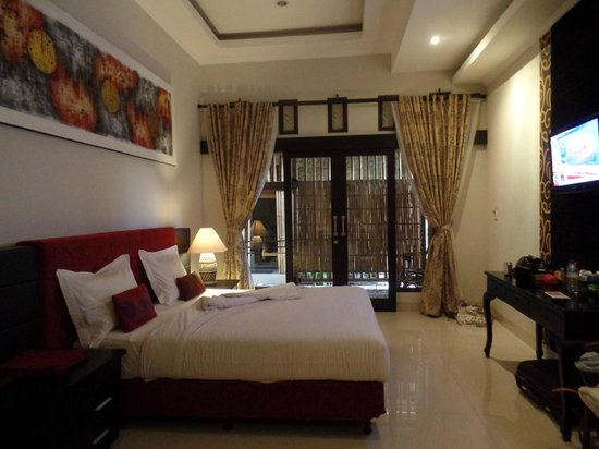 Vamana Resort: The rooms are actually much more spacious than even the photos show
